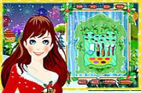 Play Right Dress For Christmas game