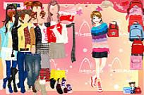 Play Backpack Dressup game
