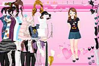 Play Summer Fashion Dressup game