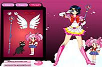 Play Sailor Moon Dressup game