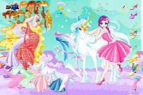 Play Fairy And The Unicorn Dressup game