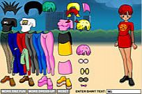 Play Dressup Bulma game