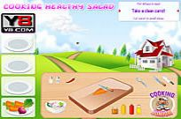 Play Cooking Healthy Salad game