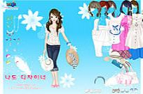 Play Spring Hat Dressup game