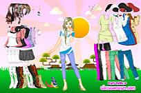 Play Sunshine Dressup game