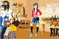 Play Kathryn In House Dressup game
