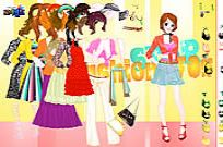 Play Tina Gown Dressup game