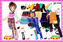 Play Dancer Dressup 2 game