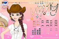 Play Texan Beauty Dressup game