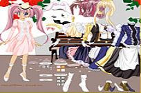 Play Lady Anime Dress Up game