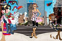 Play Manhattan Shopping Girl game