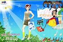 Play Sunshine Dress Up game