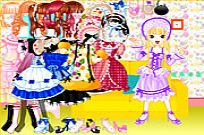 spielen Sweet Candy Dress Up Spiel