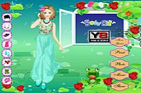 Play Rose Party Dress Up game