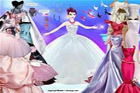 Play Barbie In Gowns game