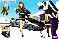Play Uptown Girl Dressup game
