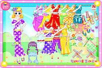 Play Color Angel Dresses game