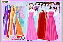 Play Gown And Robe Dressup game