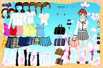 Play Work Outfit Dress Up game