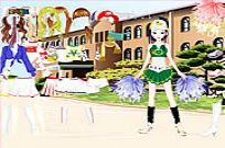 Play Cheerleader Dress Up game