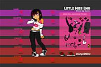 Play Little Miss Emo game