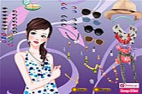Play Summer Star Dressup game