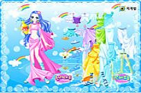 Play Aquarius Zodiac Dress Up game
