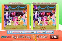 Play My Little Pony D-finder game