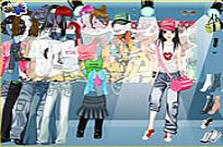 Play Denim Heaven Dress Up game