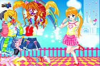 Play Dana Dressup game