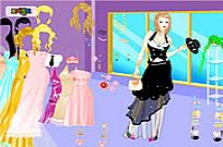 Play Chic Gown Dress Up game