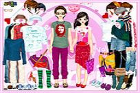 Play Aaron And Gabrielle Couple Dressup game