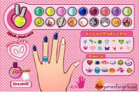 Play Nail Salon game