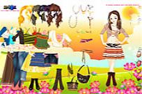 Play Tribal Trends Dressup game