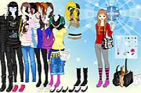 Play Caps And Bags Dressup game