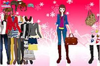 spielen Winter Basics Dress Up Spiel