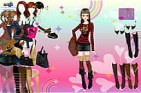 Play Sexy Shophiticated Dress Up game