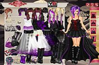 Play Goth Bride Dress Up game