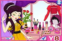 Play Stylish Cover Girl Makeover game