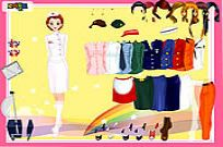 Play Uniform Dressup game