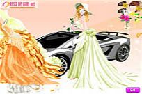 Play Happiest Bride Dressup game