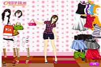 Play Summer Shopper Dressup game