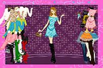 Flower Clothing Dressup Game
