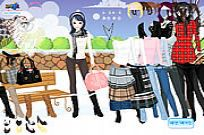 Play Winter Trend Dress Up game