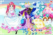 Play Lucy Gowns Dressup game