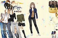 Play Work Style Dressup game