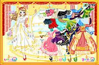 Play Cinderella Ballroom Dress Up game