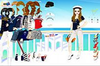 Play Navy Girl Dress Up game