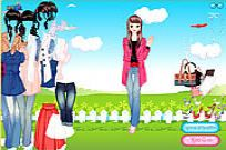 Play Get Your Favorite Jeans Dress Up game