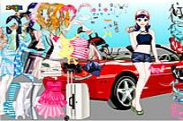 Play Ferrari Dress Up game